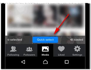 Медиа и выделить Инстаграм удалить публикации