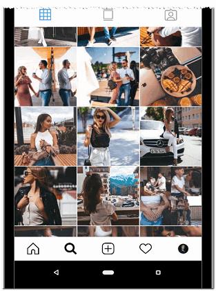 Профиль фотографа в Инстаграме