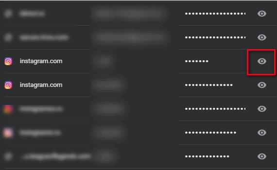 Посмотреть пароль для Инстаграма через Гугл Хром