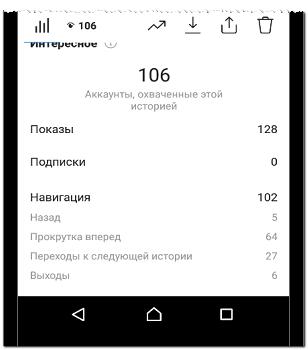Навигация в Сторис Инстаграма