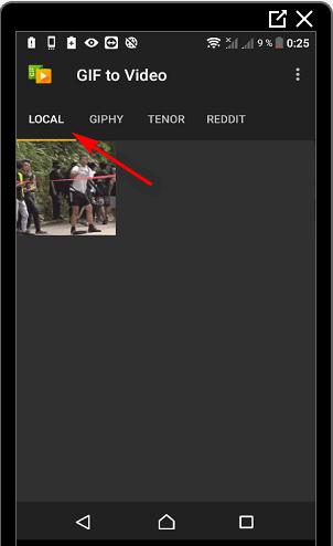 Гифки в Инстаграме конвертировать