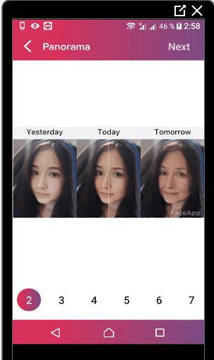 Нарезать фото через приложение для Инстаграма