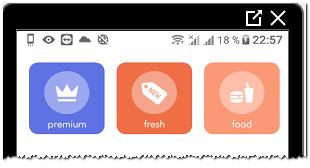 Выбрать шаблон в Mouve для Инстаграма