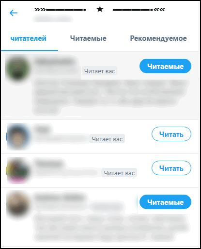Читатели в Твиттере